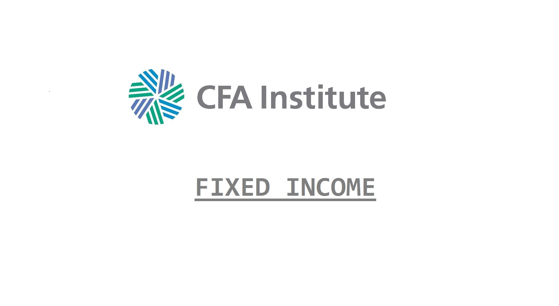 CFA Fixed Income